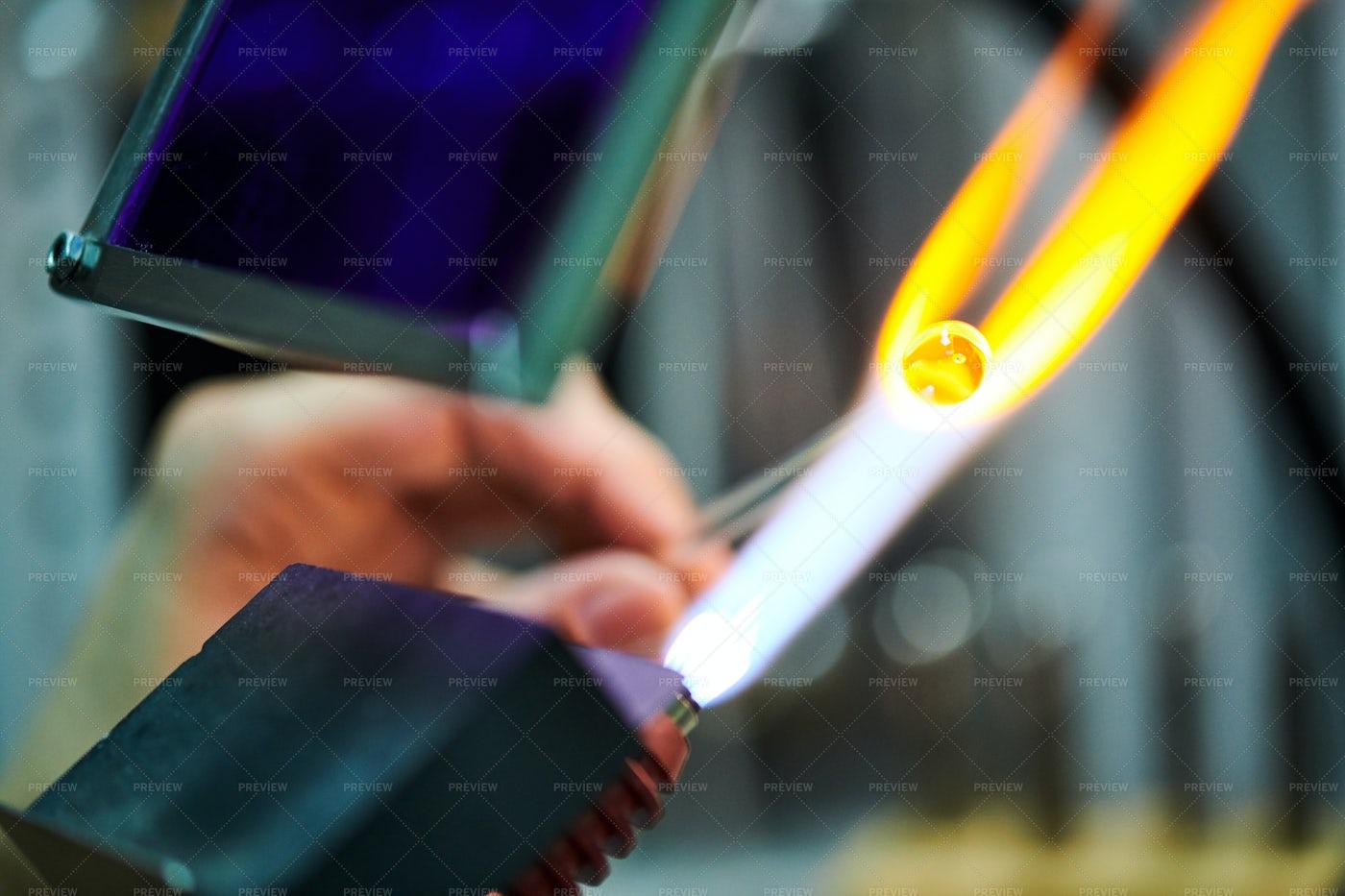 Glasswork Close Up: Stock Photos