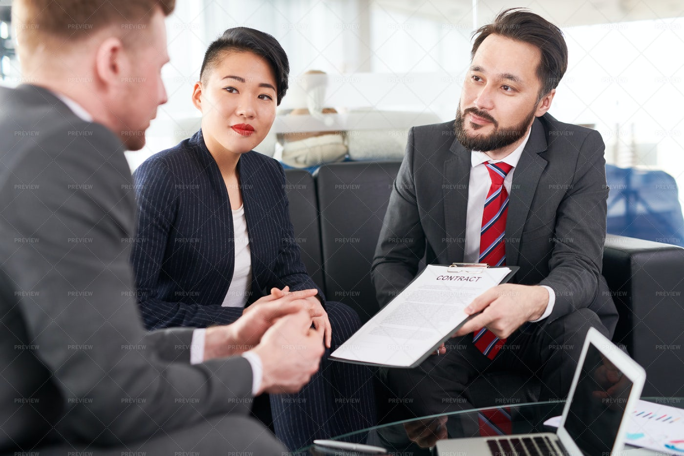 Business Contract: Stock Photos