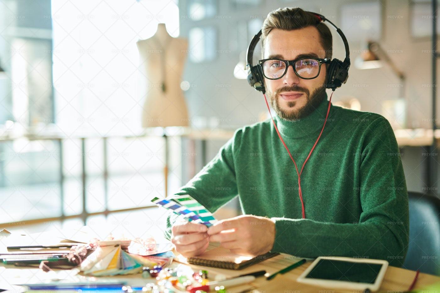 Contemporary Male Designers: Stock Photos