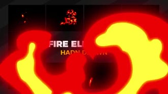Fire Elements: Motion Graphics