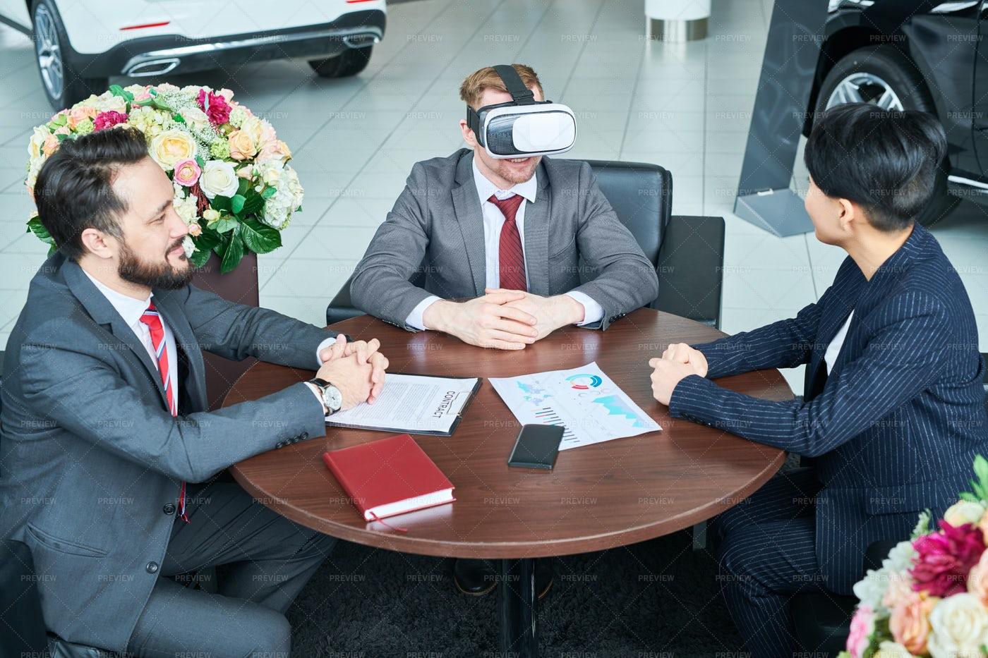 Virtual Business Meeting: Stock Photos