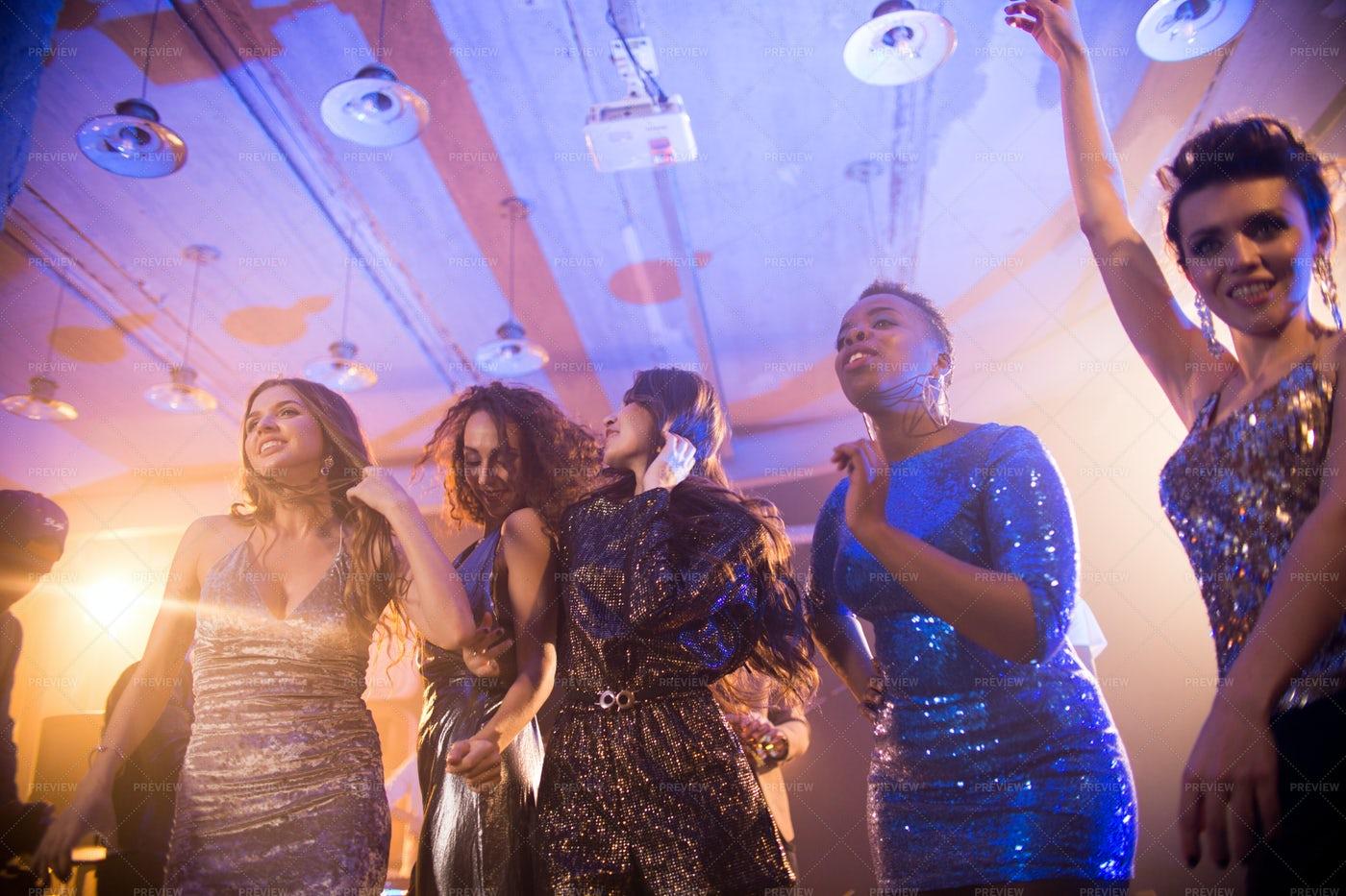 Spending Night On Dance Floor: Stock Photos