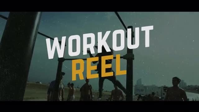 Workout Promo: Premiere Pro Templates