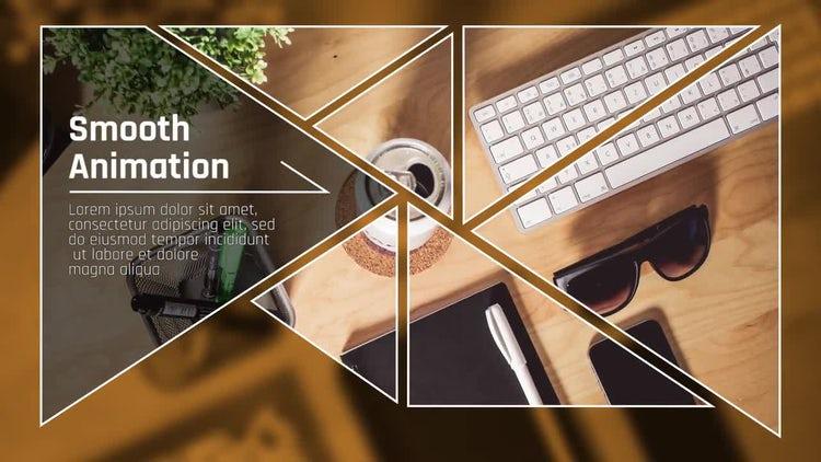 Triangle Presentation: Premiere Pro Templates