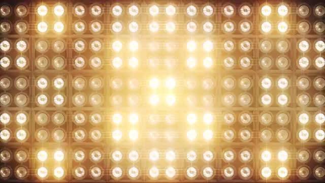 Led Light DJ Background: Stock Motion Graphics