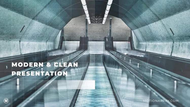 Modern & Clean Corporate Presentation: After Effects Templates