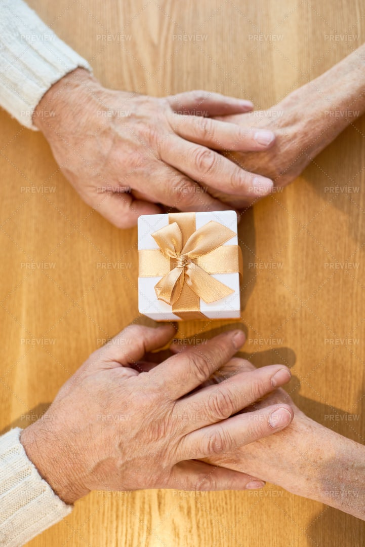 Holding Hands With Soulmate: Stock Photos