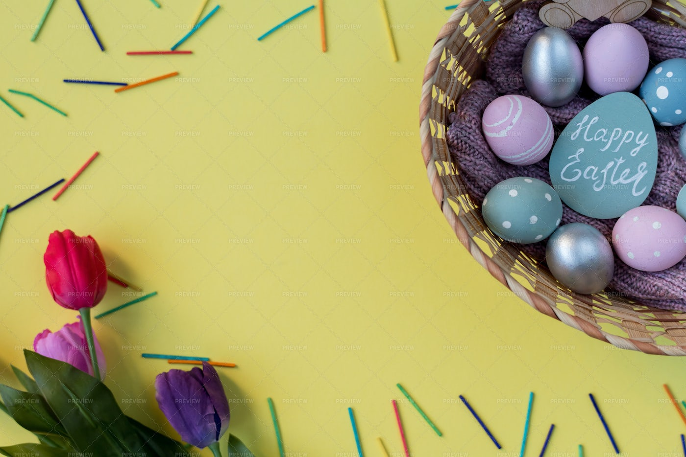 Happy Easter Background: Stock Photos
