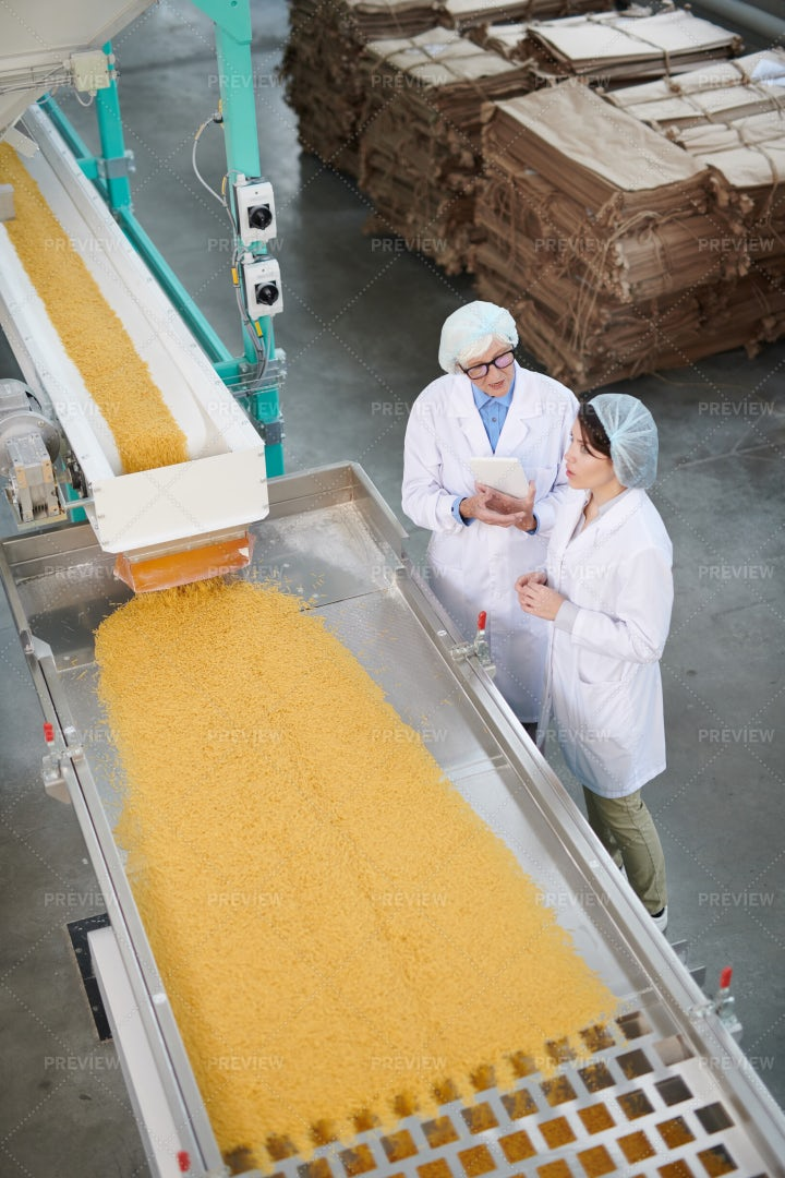 Food Production Background: Stock Photos
