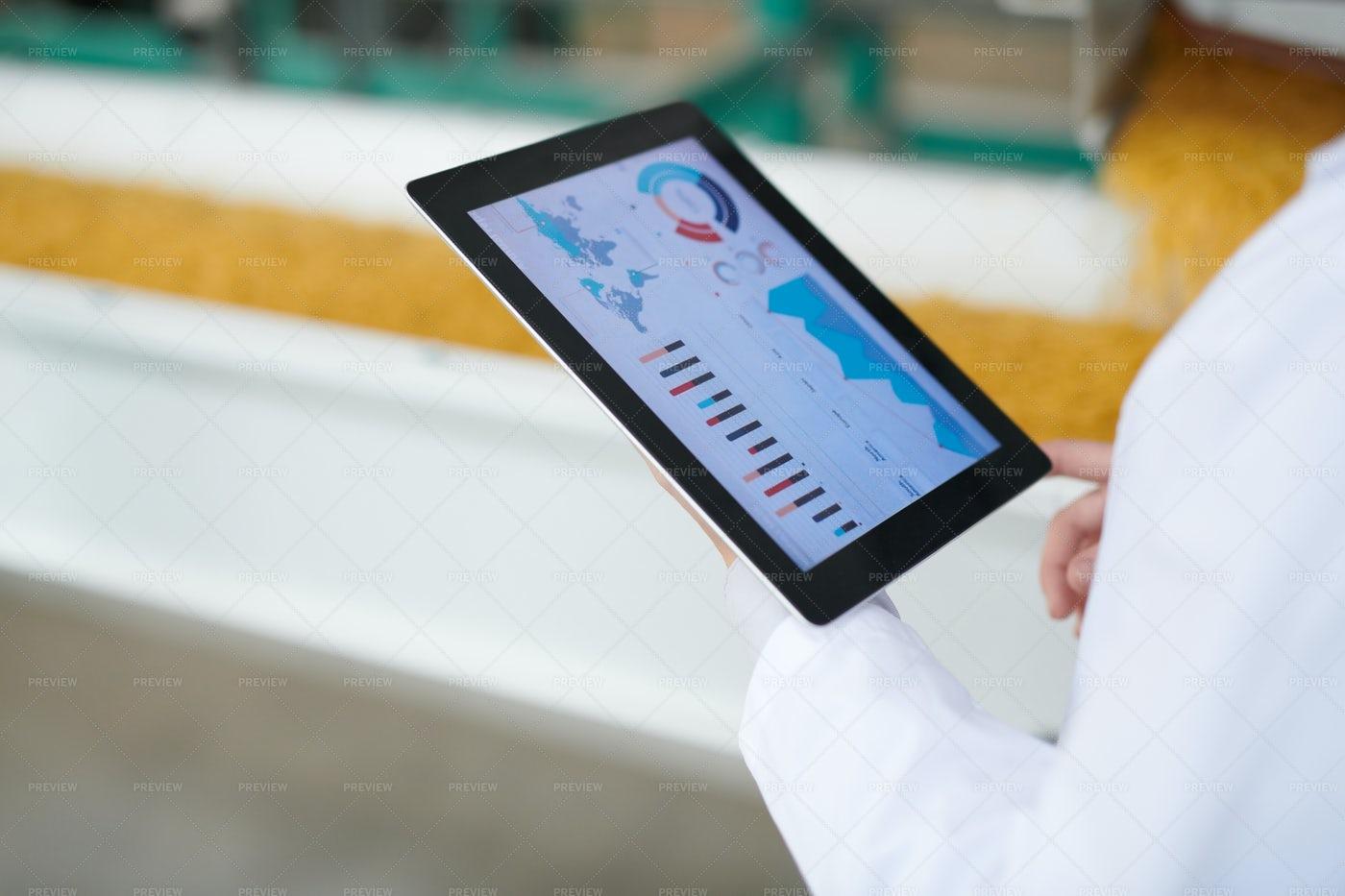 Modern Factory Management: Stock Photos