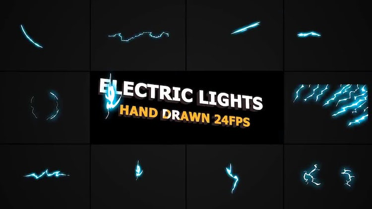 Flash FX Lightning Elements: Motion Graphics