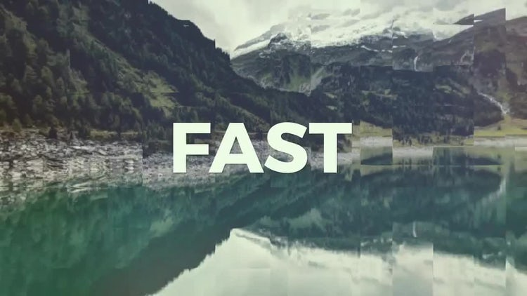 Fast Slice Claps: After Effects Templates