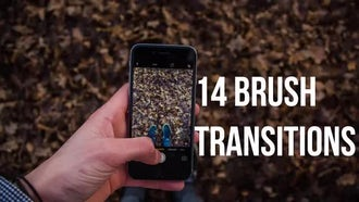 Brush Transitions: Motion Graphics