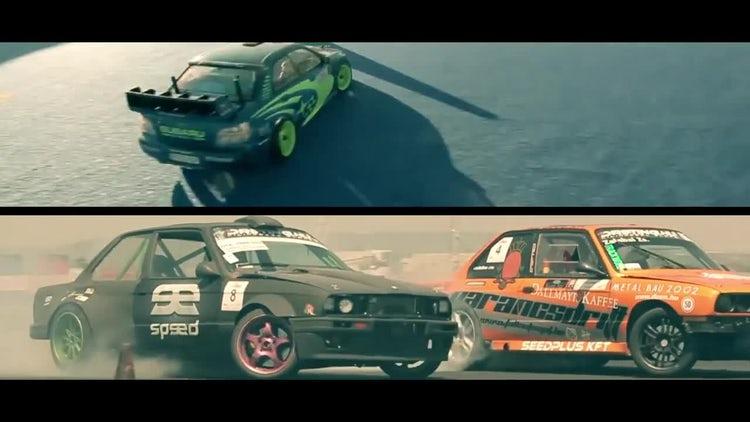 Racing promo: Premiere Pro Templates