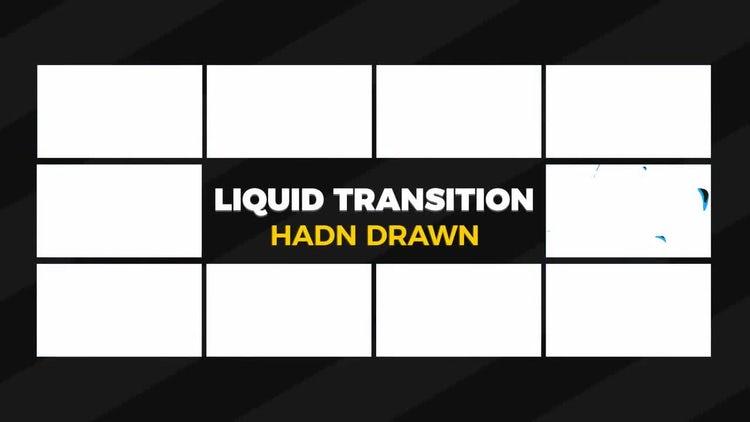 Liquid Transitions: Motion Graphics