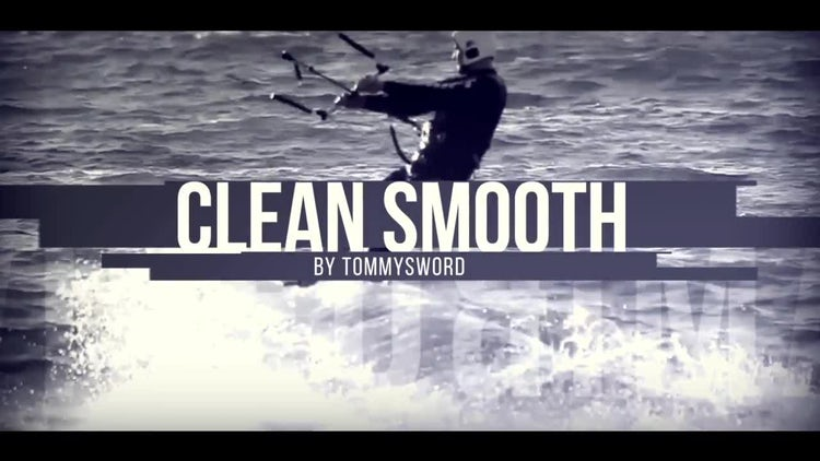 Clean Smooth: After Effects Templates