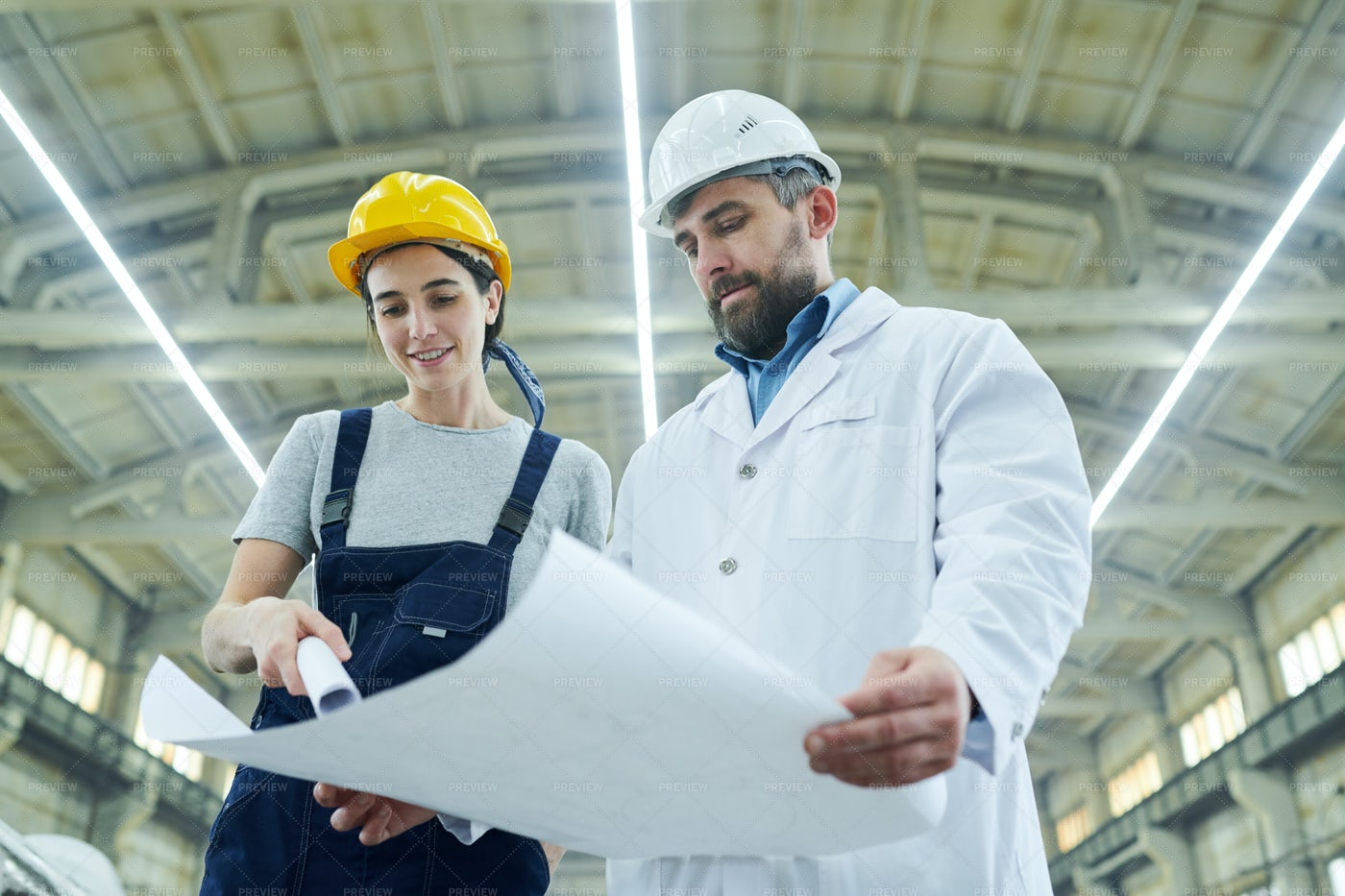 Factory Engineers: Stock Photos