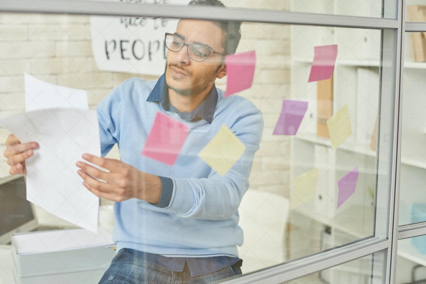 Startup Entrepreneur Planning...: Stock Photos