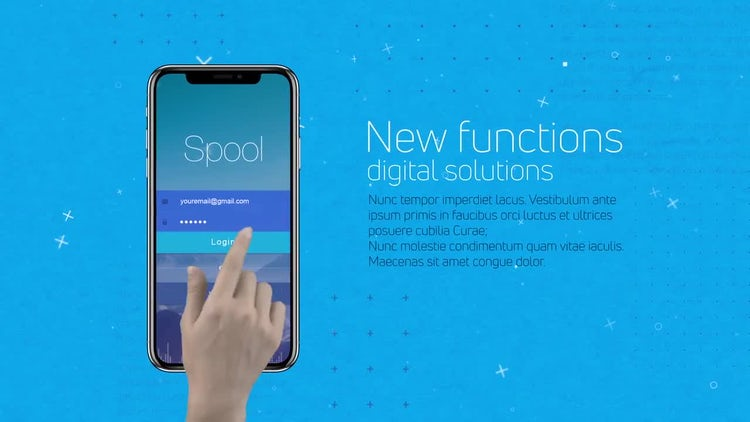 Phone App Presentation: After Effects Templates