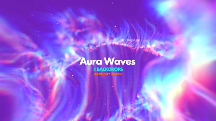 Aura Waves Pack: Stock Motion Graphics