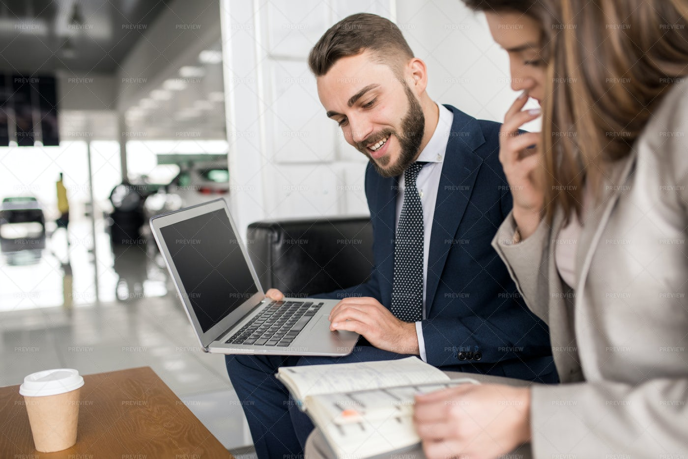 Successful Business People Working...: Stock Photos