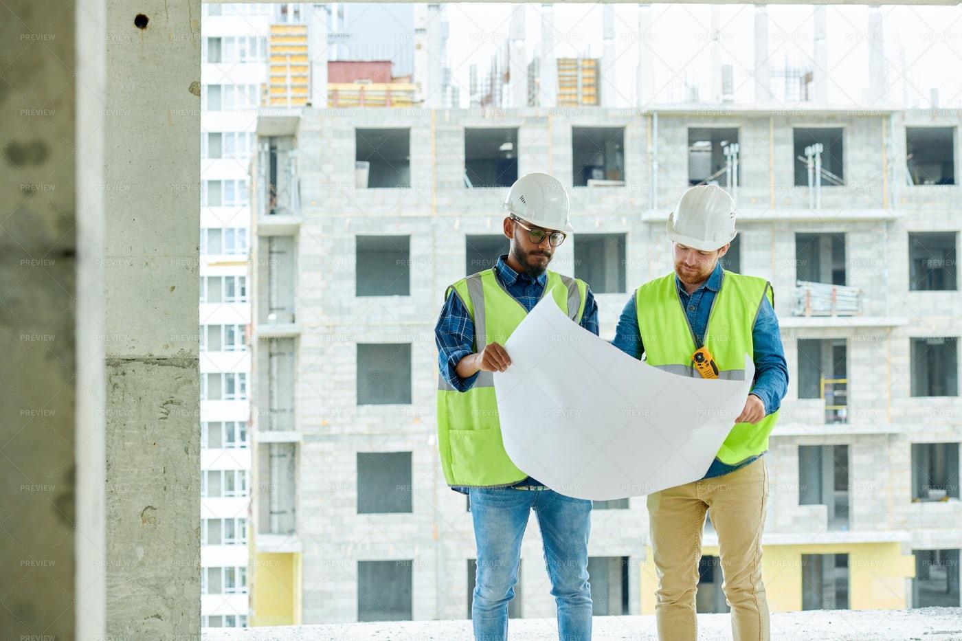 Serious Construction Designers...: Stock Photos