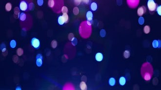 Colorful loop animated background Bokeh: Motion Graphics