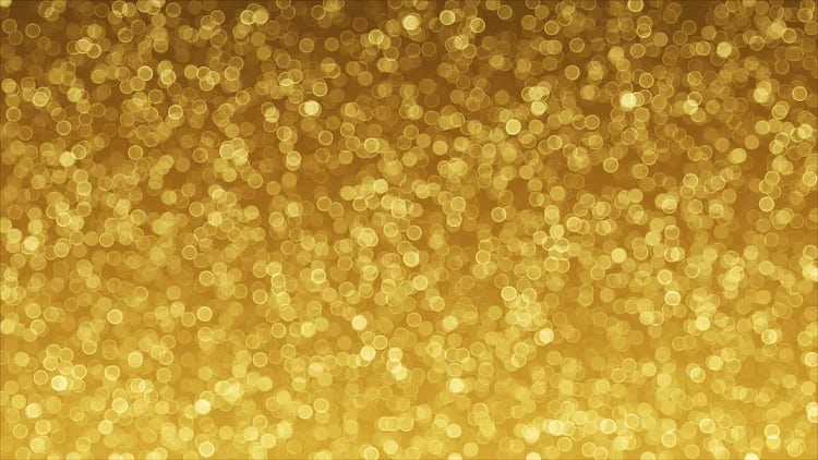 Golden Background Of Bokeh: Stock Motion Graphics