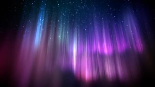 Polar Lights Loop: Stock Motion Graphics