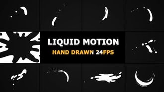 Liquid Motion Shapes: Motion Graphics