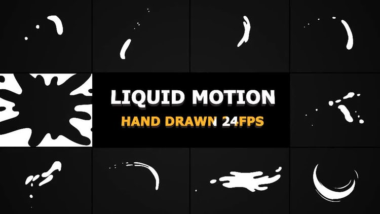 Liquid Motion Shapes: Stock Motion Graphics