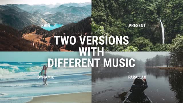 Dynamic Parallax Slideshow: Premiere Pro Templates