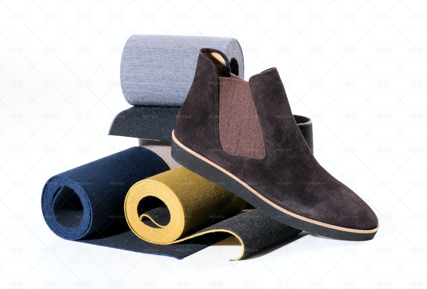 Stylish Mans Shoe: Stock Photos