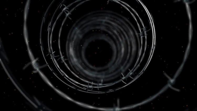 Dark Tunnel: Stock Motion Graphics