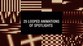 Flashing Spotlights: Motion Graphics