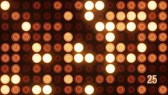 Flashing Spotlights: Motion Graphics