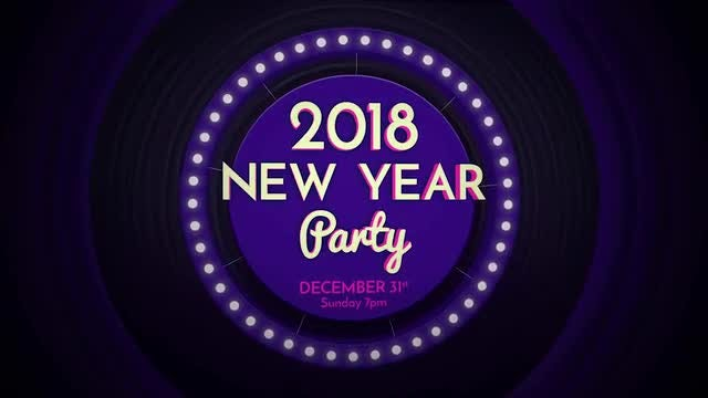 DJ Party Invite: After Effects Templates