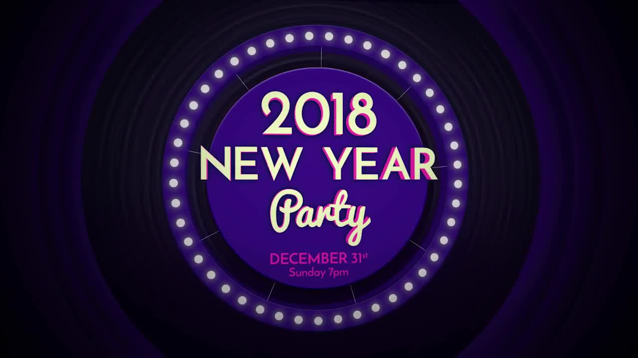 Dj Party Invite After Effects Templates Motion Array