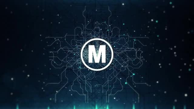 Microcircuit Logo Reveal: After Effects Templates