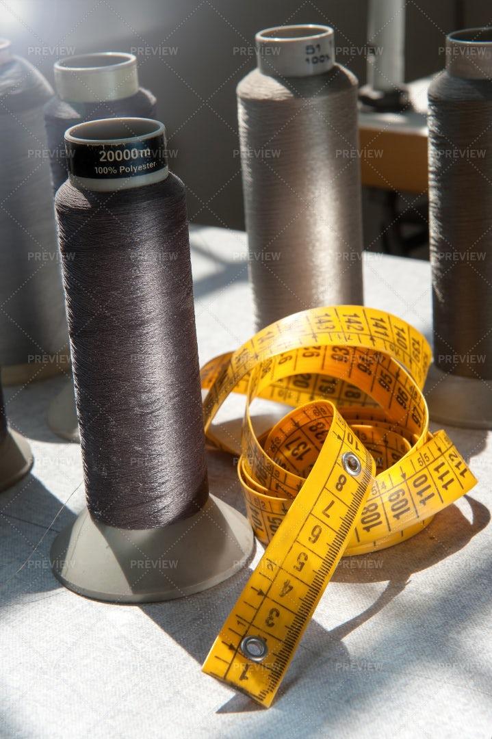 Spools Of Yarn: Stock Photos