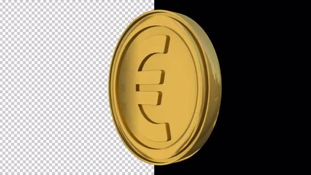 Euro: Stock Motion Graphics