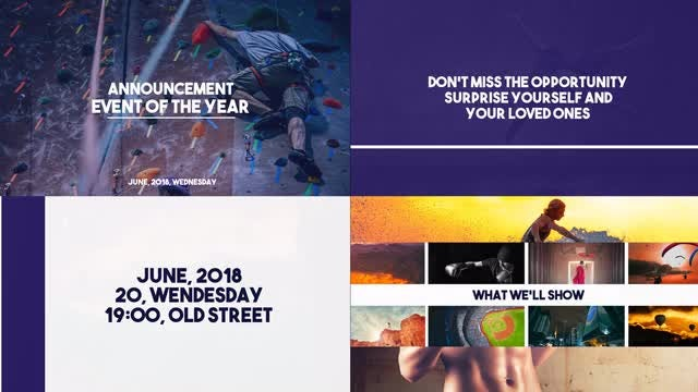 Event Slideshow: After Effects Templates