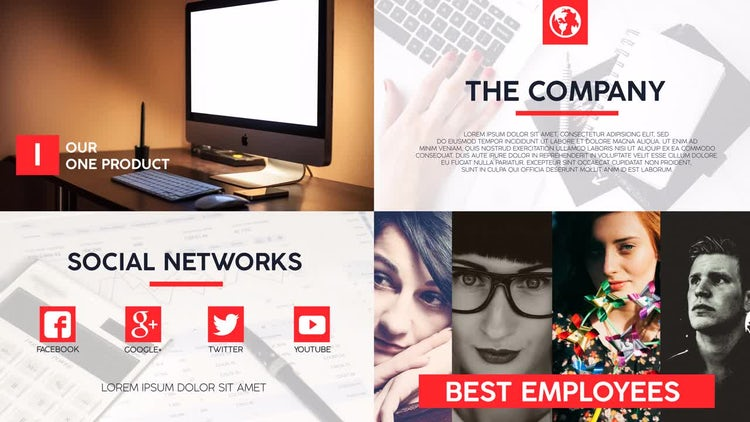 Business Opener: After Effects Templates
