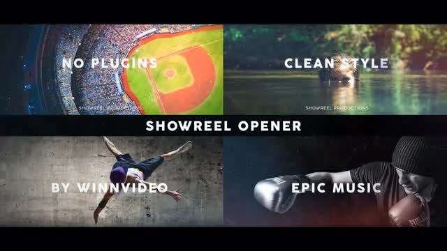 Showreel Opener - After Effects Templates | Motion Array