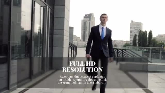 New Line Corporate Presentation: After Effects Templates