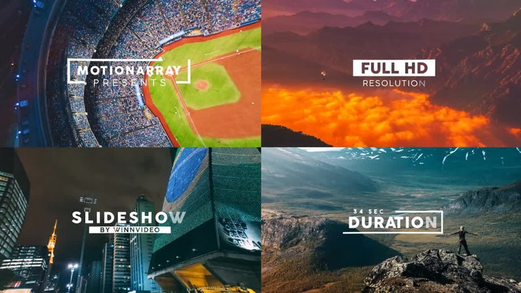 Stylish Slideshow: After Effects Templates