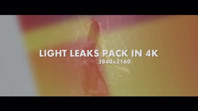 Light Leaks Pack: Stock Motion Graphics