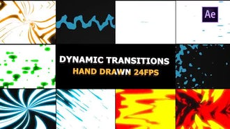 Dynamic Elemental Transitions: After Effects Templates