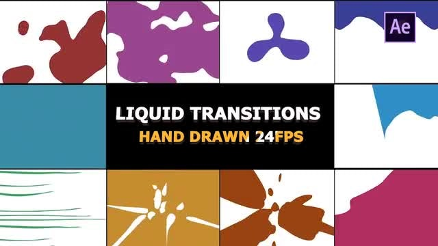 Dynamic Splash Transitions: After Effects Templates