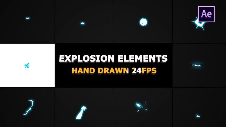 Energy Explosions And Transitions: After Effects Templates